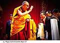 12717 - Photo: Tenzin Gyatso, le dalaï-lama, le plus haut chef spirituel du Tibet à Lausanne en Suisse