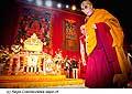 12718 - Photo: Tenzin Gyatso, le dalaï-lama, le plus haut chef spirituel du Tibet à Lausanne en Suisse