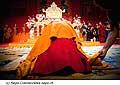 12719 - Photo: Tenzin Gyatso, le dalaï-lama, le plus haut chef spirituel du Tibet à Lausanne en Suisse