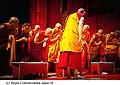 12720 - Photo: Tenzin Gyatso, le dalaï-lama, le plus haut chef spirituel du Tibet à Lausanne en Suisse
