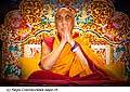 12721 - Photo: Tenzin Gyatso, le dalaï-lama, le plus haut chef spirituel du Tibet à Lausanne en Suisse