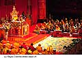 12722 - Photo: Tenzin Gyatso, le dalaï-lama, le plus haut chef spirituel du Tibet à Lausanne en Suisse
