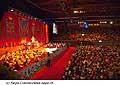 12730 - Photo: Tenzin Gyatso, le dalaï-lama, le plus haut chef spirituel du Tibet à Lausanne en Suisse