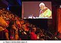 12731 - Photo: Tenzin Gyatso, le dalaï-lama, le plus haut chef spirituel du Tibet à Lausanne en Suisse
