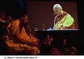 12732 - Photo: Tenzin Gyatso, le dalaï-lama, le plus haut chef spirituel du Tibet à Lausanne en Suisse
