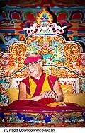 12733 - Photo: Tenzin Gyatso, le dalaï-lama, le plus haut chef spirituel du Tibet à Lausanne en Suisse