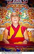 12736 - Photo: Tenzin Gyatso, le dalaï-lama, le plus haut chef spirituel du Tibet à Lausanne en Suisse