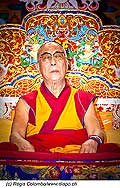 12737 - Photo: Tenzin Gyatso, le dalaï-lama, le plus haut chef spirituel du Tibet à Lausanne en Suisse