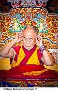 12738 - Photo: Tenzin Gyatso, le dalaï-lama, le plus haut chef spirituel du Tibet à Lausanne en Suisse