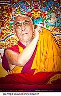 12742 - Photo: Tenzin Gyatso, le dalaï-lama, le plus haut chef spirituel du Tibet à Lausanne en Suisse