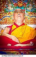 12744 - Photo: Tenzin Gyatso, le dalaï-lama, le plus haut chef spirituel du Tibet à Lausanne en Suisse