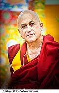 12751 - Photo: Matthieu Ricard avec Tenzin Gyatso, le dalaï-lama, le plus haut chef spirituel du Tibet à Lausanne en Suisse