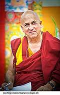 12752 - Photo: Matthieu Ricard avec Tenzin Gyatso, le dalaï-lama, le plus haut chef spirituel du Tibet à Lausanne en Suisse