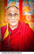 12755 - Photo: Tenzin Gyatso, le dalaï-lama, le plus haut chef spirituel du Tibet à Lausanne en Suisse