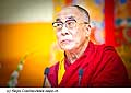 12761 - Photo: Tenzin Gyatso, le dalaï-lama, le plus haut chef spirituel du Tibet à Lausanne en Suisse