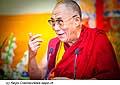 12762 - Photo: Tenzin Gyatso, le dalaï-lama, le plus haut chef spirituel du Tibet à Lausanne en Suisse