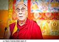 12764 - Photo: Tenzin Gyatso, le dalaï-lama, le plus haut chef spirituel du Tibet à Lausanne en Suisse