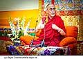 12766 - Photo: Tenzin Gyatso, le dalaï-lama, le plus haut chef spirituel du Tibet à Lausanne en Suisse