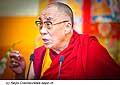12768 - Photo: Tenzin Gyatso, le dalaï-lama, le plus haut chef spirituel du Tibet à Lausanne en Suisse