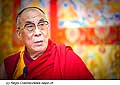 12769 - Photo: Tenzin Gyatso, le dalaï-lama, le plus haut chef spirituel du Tibet à Lausanne en Suisse
