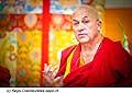 12770 - Photo: Matthieu Ricard avec Tenzin Gyatso, le dalaï-lama, le plus haut chef spirituel du Tibet à Lausanne en Suisse