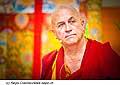 12772 - Photo: Matthieu Ricard avec Tenzin Gyatso, le dalaï-lama, le plus haut chef spirituel du Tibet à Lausanne en Suisse
