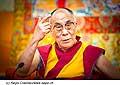 12775 - Photo: Tenzin Gyatso, le dalaï-lama, le plus haut chef spirituel du Tibet à Lausanne en Suisse