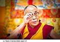 12776 - Photo: Tenzin Gyatso, le dalaï-lama, le plus haut chef spirituel du Tibet à Lausanne en Suisse