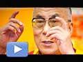 12777 - Vidéo 2 - Le dalaï lama en Suisse à Lausanne, enseignement et interview
