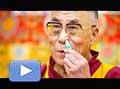 12778 - Vidéo - Le dalaï lama en Suisse à Lausanne, le fameux interview 'grippe'
