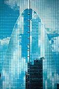 12808 - Photo: building de verre à Miami - Floride - USA