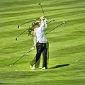 12840 - le golf à Crans-Montana