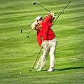 12841 - le golf à Crans-Montana