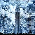 13028 - FINE ART - Empire-State-Building - New York - Collection Transparencies - www.regiscolombo.com