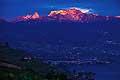 13186 - photo: Suisse - lac Léman, les Rochers de Naye et la Dent de Jaman