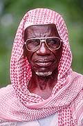 3564 - Nord Cameroun - portrait d'homme