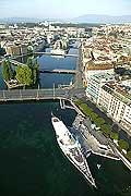 4385 - Suisse - Ville de Genève - Ile rousseau