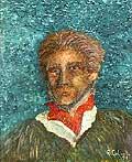 4967 - Autoportrait - Huile sur toile - 1991