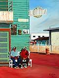4970 - Lupita - Huile sur toile - 1991