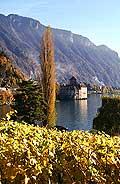 5004 - Le château de Chillon et le Lac Léman - Suisse