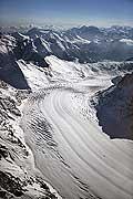 5387 - Montagnes Suisses Valais - Glacier d'Aletsch