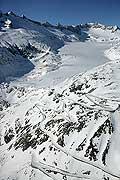 5389 - Montagnes Suisses Valais - Glacier du Rhône