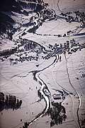 5395 - Suisse - Valais - Début de la Vallée du Rhône, village de Reckingen