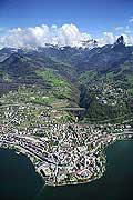 7481 - Suisse - Montreux et le lac Léman