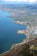 7483 - Suisse - lac Léman - vers Montreux