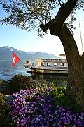 7494 - suisse, bateau de la CGN sur le Lac Léman