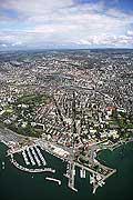 7509 - Suisse - Lausanne, vue sur Ouchy