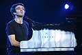 7728 - Photo de musique, spectacle et concert : Vincent Delerm au Paléo festival de Nyon - 2005