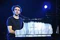 7729 - Photo de musique, spectacle et concert : Vincent Delerm au Paléo festival de Nyon - 2005