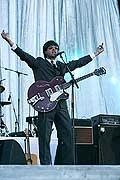 7735 - Photo de musique, spectacle et concert : The Rabeats aux Paléo festival de Nyon - 2005